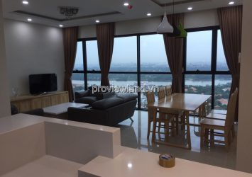 Apartment for rent Ascent in district 2 at 23th floor river view area 99qm 3BRS