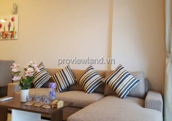 Apartment for rent Tropic Garden 76sqm 2 bedrooms 16th floor river view