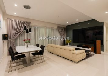 Apartment for rent The Estella 17th floor area 145sqm 3 bedrooms full furniture