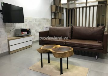 Serviced luxury apartment for rent in District 2 55sqm including 15sqn garden 1BRS