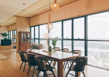 The Ascent Penthouse apartment for lease at 29th floor area 250sqm 3 bedrooms