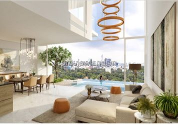 Serenity sky villa apartment for sale has area 68sqm 1 bedroom 15th floor
