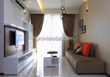 Thao Dien Pearl apartment for rent 2 bedrooms area 95sqm high floor