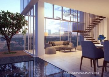 Serenity Sky Villa apartment for sale in District 3 high floor 2 bedrooms
