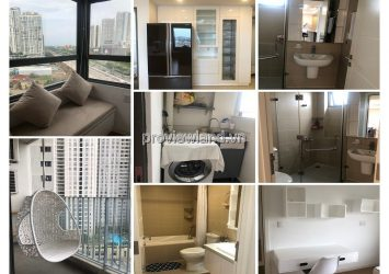 Masteri Thao Dien apartment for lease at 12Ath floor T5 tower area 91sqm 3BRS