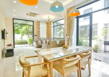Lucasta villa for sale in District 9 1 ground 2 floors 6brs full furniture
