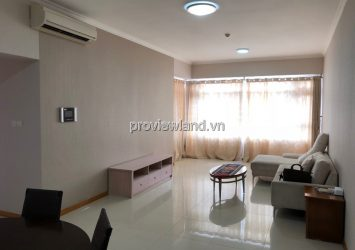 Saigon Pearl apartment for rent at 19th floor Topaz 2 tower 3 bedrooms  river view