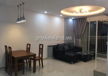 Apartment for lease in Tropic Garden at 17th floor 2 bedrooms has area 88sqm