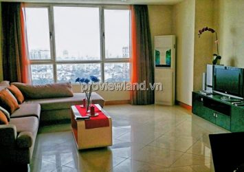 Aparment for lease The Manor at high floor has area 113sqm 2 BRS river view