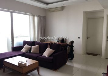 The Estella apartment for lease at high floor has area of 98sqm 2 bedrooms pool view