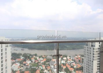 Penthouse Master Thao Dien apartment for sale high floor T5 tower area 243sqm