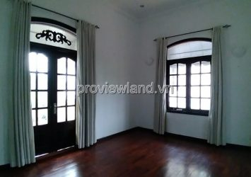 Villa for rent in street 44 Thao Dien ward 2 floors area 500sqm 3 bedrooms pool and garden