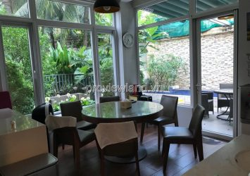 Riviera villa for rent in District 2 area 480sqm 2 floors 4 bedrooms full furniture