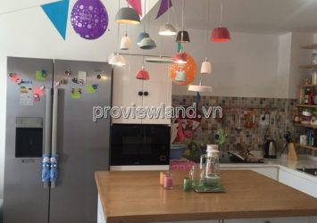 Thu Thiem Sky apartment fo lease in District 2 high floor 60sqm 2brs full furniture