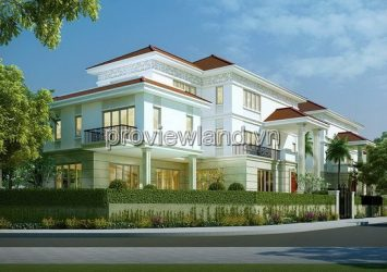 Sala Thu Thiem villa for sale with an area of 700sqm 1 basement 1 ground 2 floors