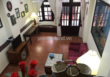 House for sale in Nguyen cu street has area 100sqm 1 ground 3 floors