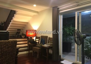 Villa for sale in District 2 at Nguyen Duy Hieu street, land area 119m2 with 1 ground floor 4 floors