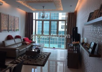 Apartment for rent in The Vista T3 tower middle floor 3 brs area 142sqm pool view