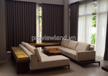 For rent villa in District 9 Riviera Cove has area 460sqm 3 floors 4BRS