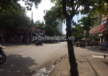 Selling Town House in District 2  facade Quoc Huong as a business office