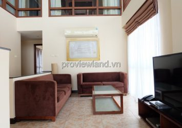 Serviced apartment for rent in District 3 at Saigon Mansion