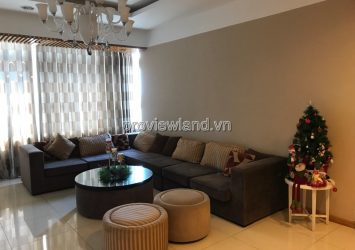 Saigon Pearl apartment for rent has area 140sqm 3 bedrooms very nice