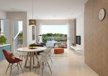 Palm Heights apartment for lease at T2 tower area 76sqm 2brs and full furniture
