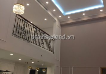 For rent Duplex Vista Verde District 2 with area 197sqm 4 bedrooms