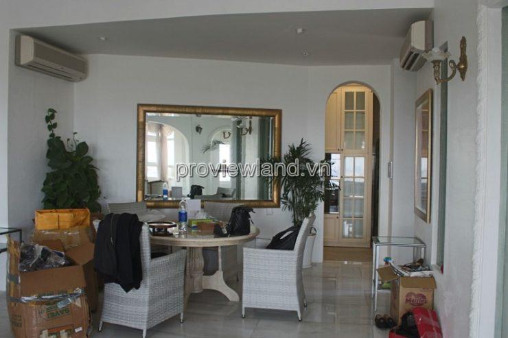 penthouse saigon pearl apartment for rent