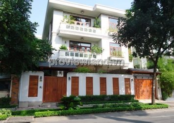 Villa for sale Nguyen Dinh Chieu street District 3 area 580m2 1 ground 2 floors