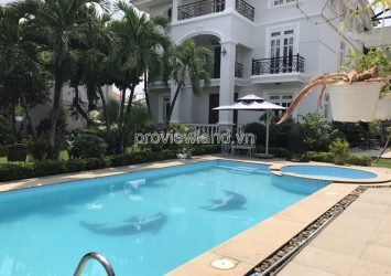 VIP Villa in Thao Dien for sale 1 ground 2 floor 5PN DT 1200m2 European Interior Pink Book