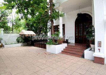 Thao Dien villa for rent in front of Xuan Thuy street area 300sqm 3 bedrooms