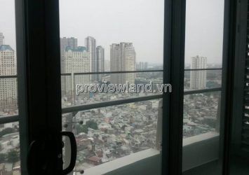 City Garden's apartment with 02 bedrooms for lease basic funiture City view
