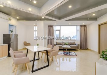 Serviced apartment for rent in Truong Sa street Penthouse-River cate-Vinhomes