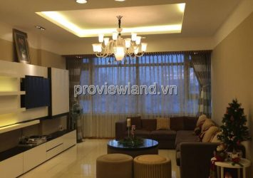 Flat for lease in Saigon Pearl at low floor area 141sqm 3 bedrooms