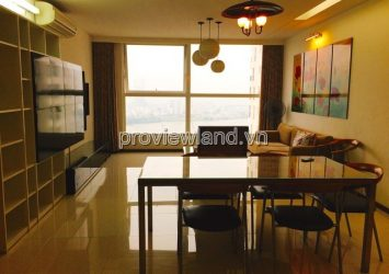 River view apartment for rent in Thao Dien Pearl project 3 bedrooms 132m2 fully furnished