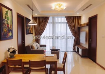 Flat for rent Vinhomes Tan Cang with area 104sqm 3brs middle floor full furniture