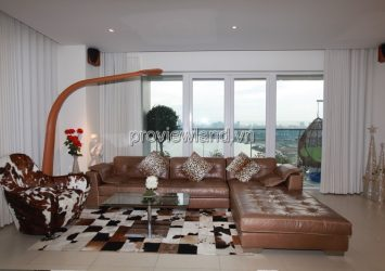 Diamond Island apartment for rent area 185m2 corner of L 2 beautiful view with 3 bedrooms