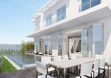 Sky Villa Diamond Island for sale at Brilliant Tower area 661sqm 5 bedrooms 2 floors