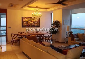 Renting in Xi Riverview Palace with 3 bedrooms full furniture 185sqm