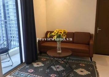 Apartment for rent in Vinhomes Central Park area of ​​120m2 3 bedrooms full furniture