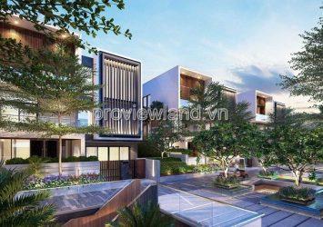 Lancaster Eden villa for sale Type A area of 485m2 1 basement 1 ground 2 floors 4 bedrooms