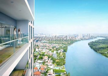 Sale apartmetn 4 bedroom River Garden apartment District 2 156m2 with state river view