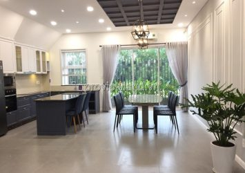 Palm Residence villa for sale in District 2 located in the compound area 9x17m 3 floors