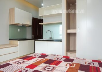 Service apartment for rent District 2 area of ​​36sqm with 1 bedroom balcony view beautiful