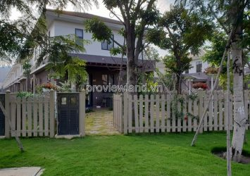 Villa for rent Kikyo Valora District 9 area 290m2 1 ground floor 1 floor 5 bedrooms garden