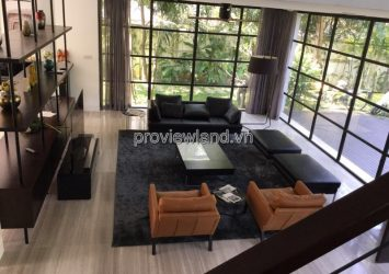 Kim Son Thao Dien villa for rent in District 2 with 755m2 4 bedrooms luxury furniture