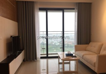 Estella Heights luxury apartment in District 2 for rent with 2 brs 28 floor full furniture