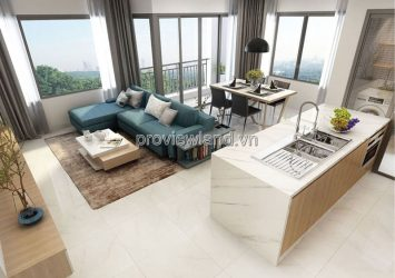 Apartment for rent in New City Thu Thiem with area 74sqm 2 bedrooms nice view