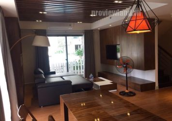 Duplex Master Thao Dien apartment for rent including garden with 3 bedrooms river view
